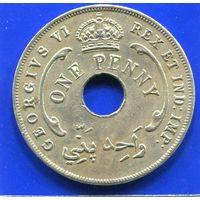 Британская Западная Африка 1 пенни 1943