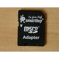 SD-адаптер Smartbuy для карт MicroSD