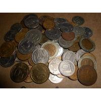 Монеты россии 73 штуки