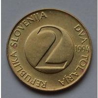 Словения 2 толара, 1994 г.