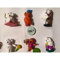 Киндер серия Влюблённые коты Редкая Новая в идеальном состоянии со всеми запчастями  90-е гг