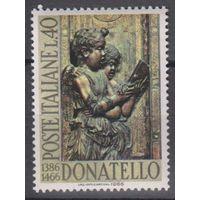 Италия 1966 г., Mi 1214** - Скульптура Музыка Искусство