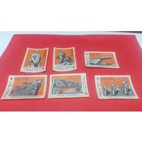 Спичечные этикетки гост 1820-85 Пинское ПДО  серия из 9 этик. Летние садовые домики (цена за все)