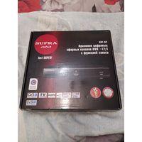 Тюнер (приставка) цифрового ТВ с функцией записи, USB SUPRA. ТОРГ!!!