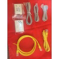 Комплект телефонных кабелей и сплитеров Huawei и ZTE (оригинал)