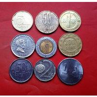 9 монеток - 9 стран. #50 Старт с 10 копеек.