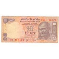 Индия, 10 рупий, 488470, 2011г