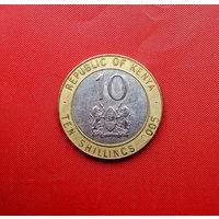 96-09 Кения, 10 шиллинг 2005 г.