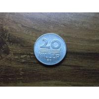 Венгрия 20 филлеров 1979
