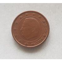 1 евроцент 1999 Бельгия
