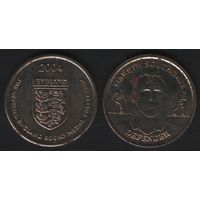 Official England Squad. Defender. Gareth Southgate -- 2004 England - The Official England Squad Medal Collection (f02)