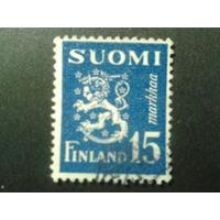 Финляндия 1948 стандарт, герб