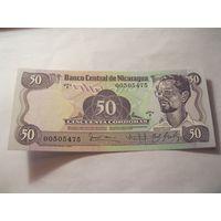 Никарагуа 50 кордоба 1984