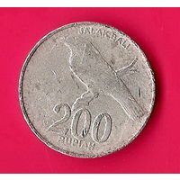 38-11 Индонезия, 200 рупий 2003 г.