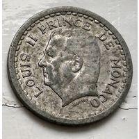 Монако 2 франка, 1943  3-4-6
