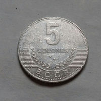 5 колон, Коста-Рика 2008 г.