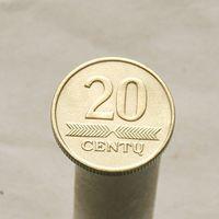 Литва 20 центов 1997