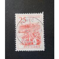 Югославия \1608\ Технология .Стандарт ШТЕМПЕЛЬ ПОРЕЧ- город в Хорватии. ФИЛГЕОГРАФИЯ