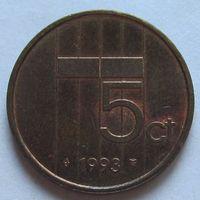 Нидерланды, 5 центов 1993 г