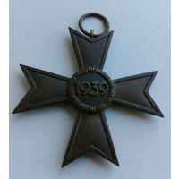 Награда 3 рейх, Германия, Крест военных заслуг 2-й степени, Крест за военные заслуги, КВК 2 ст., без мечей, оригинал