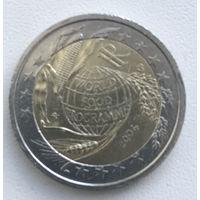 2 евро Италия 2004г. Всемирная продовольственная программа