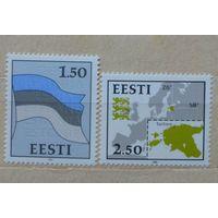Эстония\244\Стандартный выпуск 1991 год