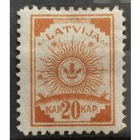 Латвия стандарт  1919