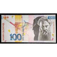 """РАСПРОДАЖА С 1 РУБЛЯ!!! Словения 100 толаров 1992 год UNC, """"СМОТРИТЕ МОИ ДРУГИЕ ЛОТЫ"""""""