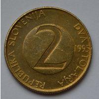 Словения 2 толара, 1995 г.