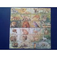 Ангола 2000 фауна полная серия 24 марки