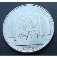 Сан-Марино. 100 лир 1976. Последний аукцион 2019