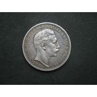 Пруссия 3 марки 1911 г.