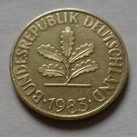 10 пфеннигов, Германия 1983 G