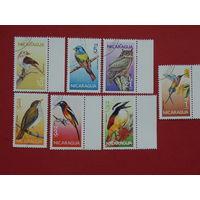 Никарагуа 1986г.  Птицы.
