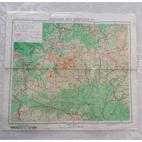 Карта БССР