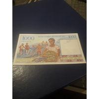 МАДАГАСКАР 1000 франков 1994 год
