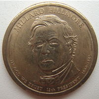 США 1 доллар 2010 г. 13-й Президент США Миллард Филлмор