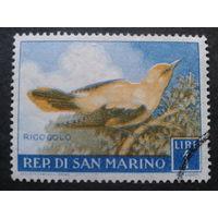 Сан-Марино 1960 птица