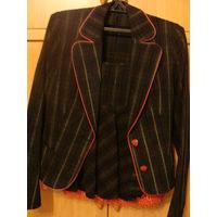 Костюм, размер 44-46, пиджак+юбка