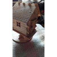 Домик из дерева. ручная работа. распродажа