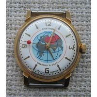 Часы. Спутник. Au-20.