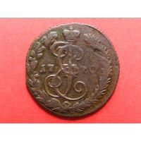 Деньга 1770 ЕМ медь