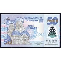 NIGERIA/Нигерия_50 Naira_2009_Pick#40.a_UNC