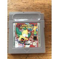 Оригинальный Krusty`s fun house для Nintendo Game Boy