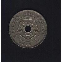 Южная Родезия 1 пенни 1937 г.