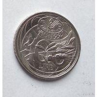 Италия 100 лир, 1995 Продовольственная программа - ФАО 5-11-24