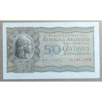 50 сентаво 1950 года - Аргентина - UNC