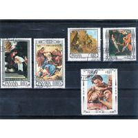 Панама. Ми-919,920,921 . Религиозное искусство. Живопись. Веласкес. 1966.