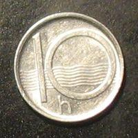 10 геллеров 1996 Чехия