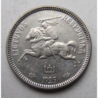 Литва, лит, 1925, серебро